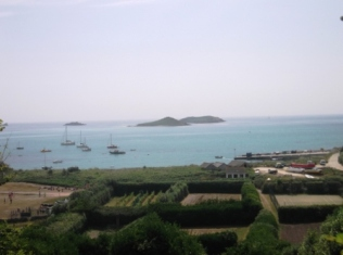 View from St. Martin's, our final stop in Scilly